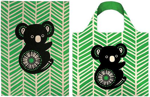 Tea Towel & Shopping Tote Bag - Gift Set - Australia, Koala, Souvenir, Retro