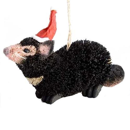 Christmas Tree Hanging Ornament, 10cm - Australia, Tasmanian Tassie Devil