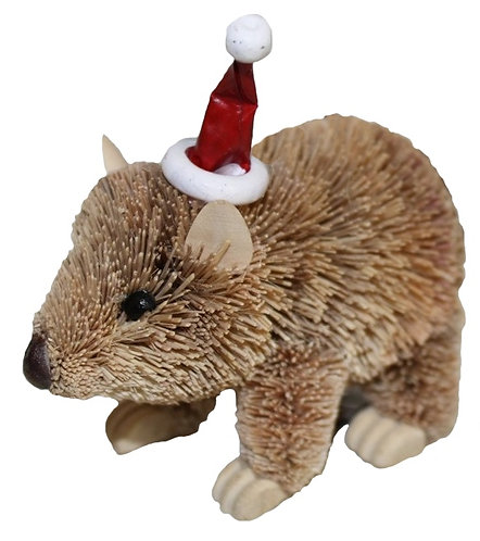 Wombat - Christmas Tree Hanging Ornament - Australian Animal