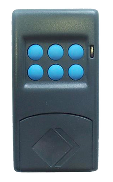 SEAV TXS 6 BUTTON REMOTE CONTROL / TRANSMITTER - 12V, 433 Mhz