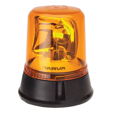FLASHING LIGHT - NARVA OPTIMAX ROTATING BEACON - 12 or 24V FIXED MOUNT 85650A