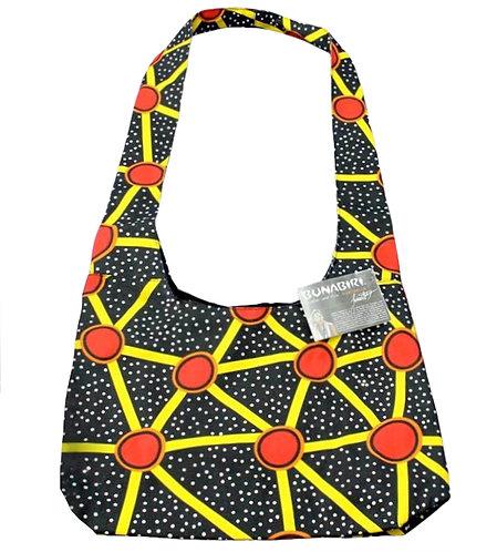 Aboriginal Handbag, Sling Bag, Shoulder Bag - Cotton Canvas - Australia, Talaroo