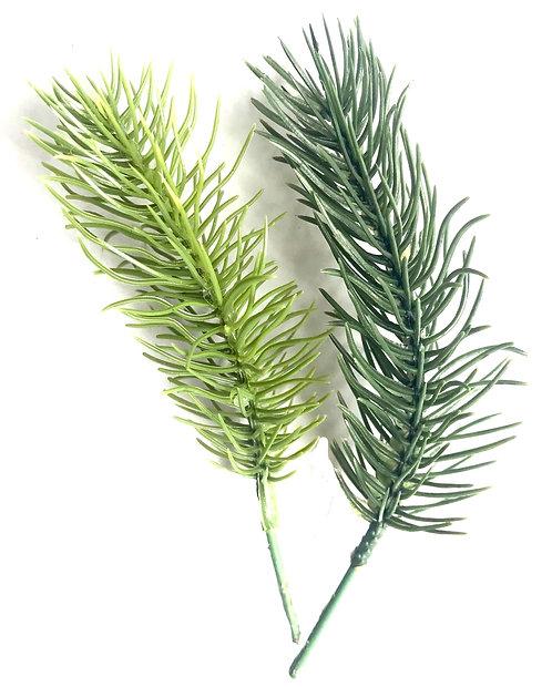 100 x Pine Picks - Artificial, Fake, Christmas Wreath, Pine Garland, DIY Crafts