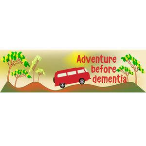 Bumper Sticker, 22x6cm - Adventure Before Dementia - Caravan,Nomad,Car,Motorhome