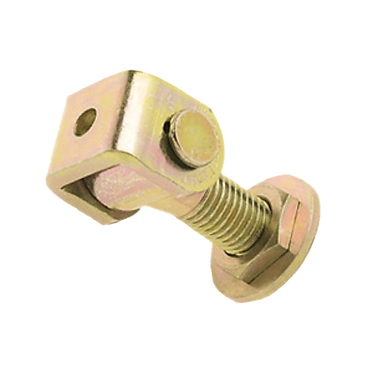 CR20 - ADJUSTABLE WELD-ON HINGE WITH M20 THREAD - SWING GATES - ROLLING CENTER