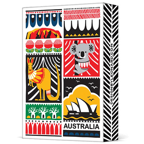 Deck of Playing Cards - Australia,Koala,Kangaroo,Sydney Opera House,Ayers Rock