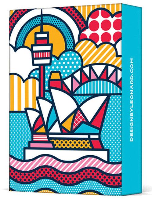 Deck of Playing Cards - Sydney Opera House - Australia, Pop Art