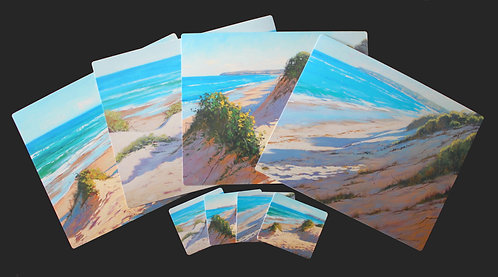 4 Placemats + 4 Coasters - Australian Seascapes