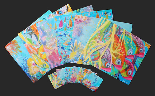 6 Placemats + 6 Coasters - Great Barrier Reef