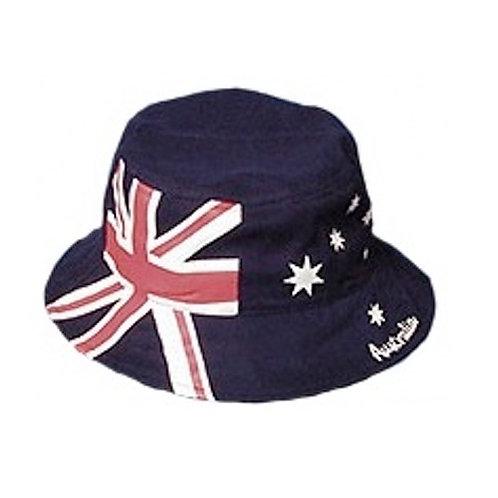 Ladies Bucket Hat - Medium, Women - 100% Cotton - Australia Flag, Australia Day