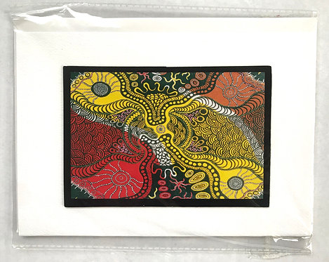 10 x Aboriginal Stationery Set - Magnets, Greting Cards, Envelopes - Australia
