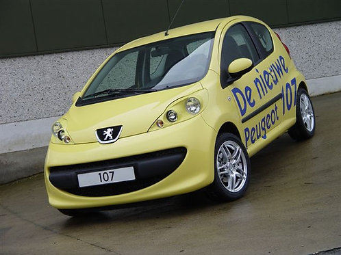 Headlights Peugeot 107