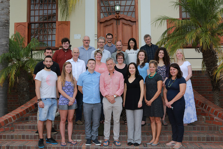 Group Photo from our first Meeting at Stellenbosch University in January 2018