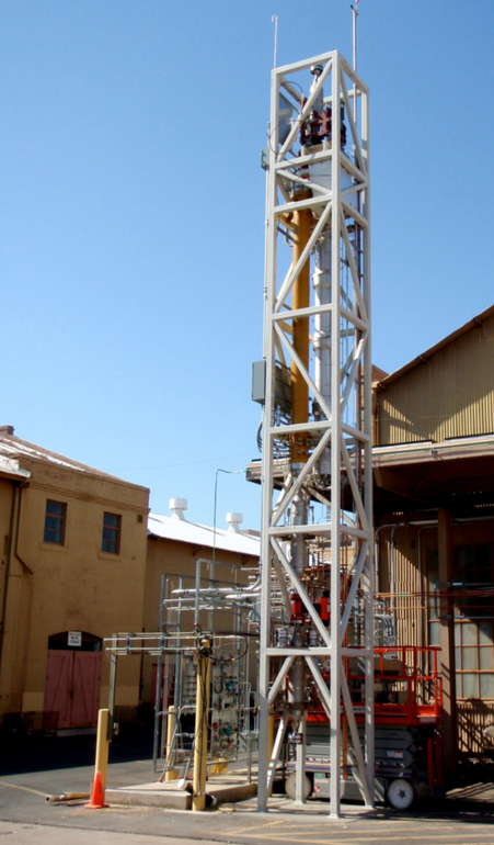 BSRX Hydrogasifier at utility facuility