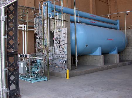 High pressure compression and storage