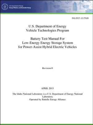US Department of Energy Vehicle Technologies Program