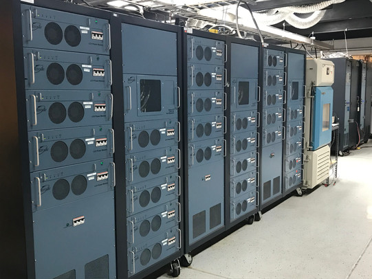 Central Lab Battery Testing Cyclers