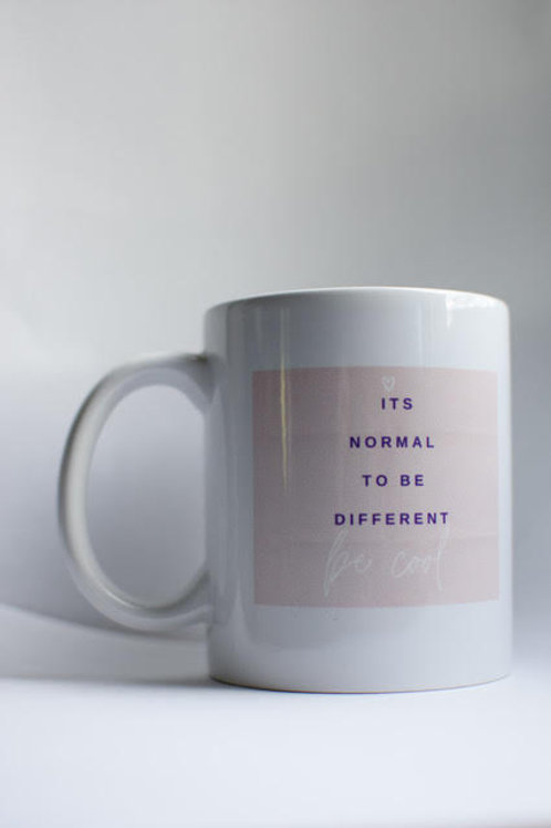 """"""" It's Normal to be Different"""" Mug"""