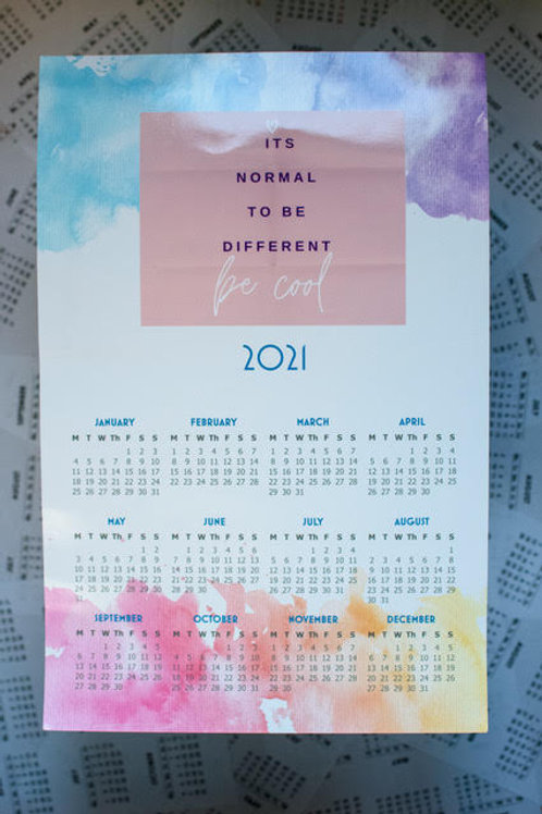Normal to be Different Calendar