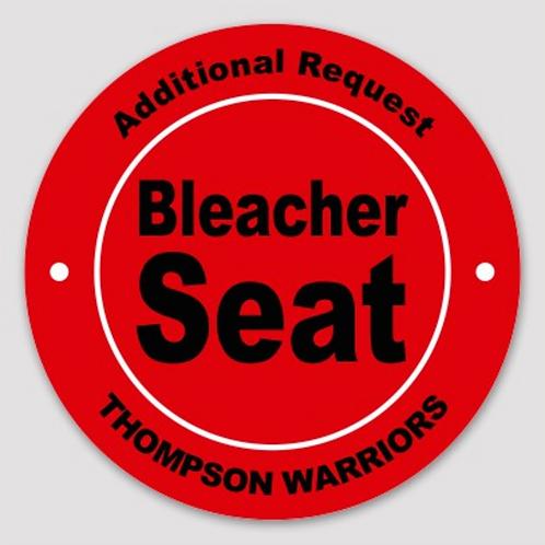 Additional Premium Reserved Bleacher Seating