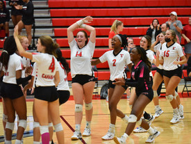 Warriors Outlast, Upset 7A #1 Spain Park in Five Sets