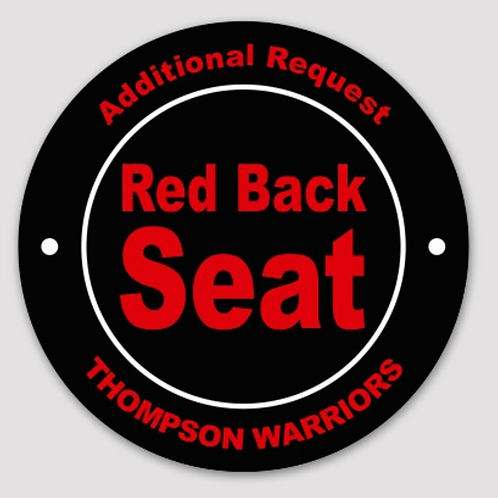 Additional Premium Chair Back Reserved Seating