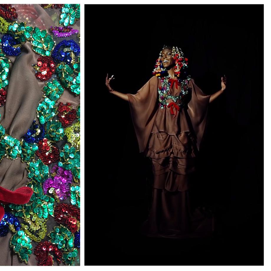 SILENT NIGHT Featuring Kimberly Marable | fashion film