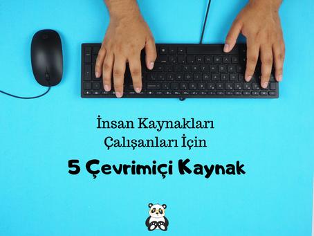 İnsan Kaynakları çalışanları için 5 çevrimiçi kaynak
