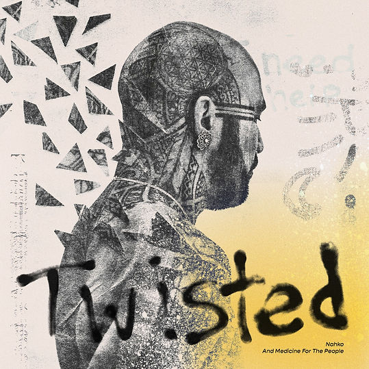 Nahko and MFTP - Twisted, Stijn van Hapert, Graphic Design, Album Cover, Design, Artwork
