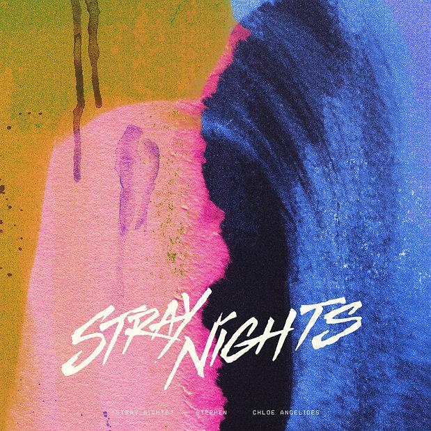 Stijn van Hapert, Graphic Design, Album Cover, Design, Artwork, Stephen, Stray Nights