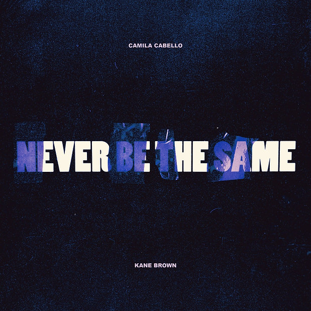 Stijn van Hapert, Graphic Design, Album Cover, Design, Artwork, Camilla Cabello, Never Be The Same