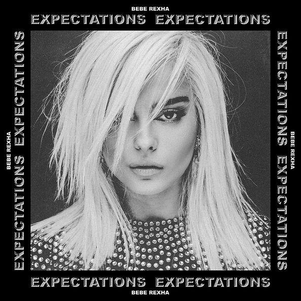 Bebe Rexha - Expectations, Stijn van Hapert, Debut Album, Album Cover, Artwork, Design