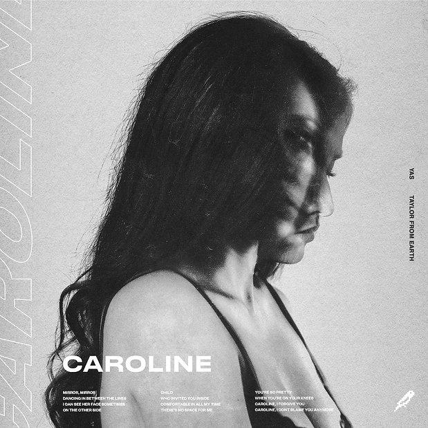 Stijn van Hapert, Graphic Design, Album Cover, Design, Artwork, YAS, Caroline