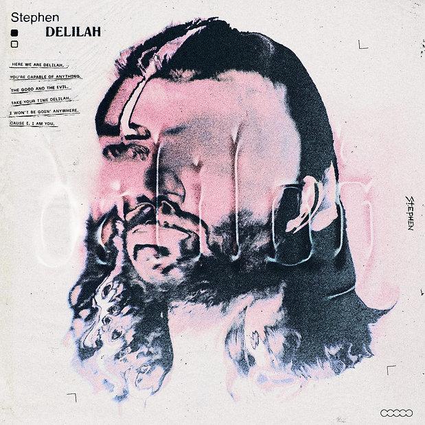 Stijn van Hapert, Graphic Design, Album Cover, Design, Artwork, Stephen, Delilah, Artwork