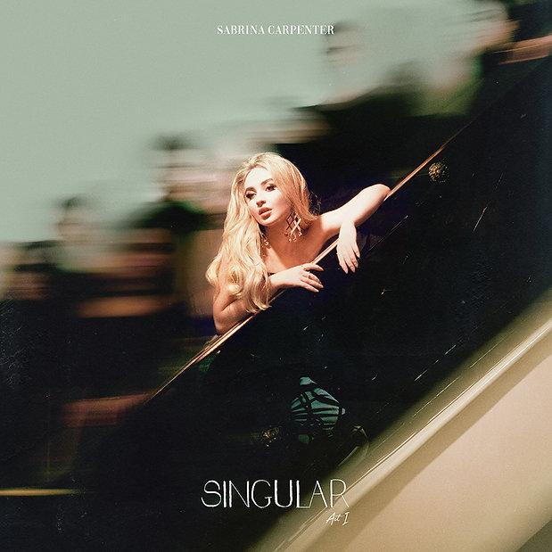 Stijn van Hapert, Graphic Design, Album Cover, Design, Artwork, Sabrina Carpenter, Singular Act I, Album Packaging