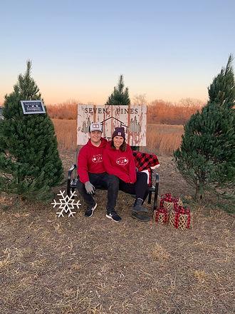 seven pines ks christmas tree