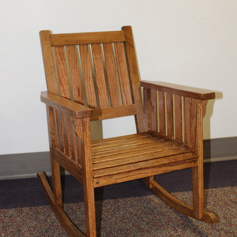 Hand Made Childs Rocking Chair