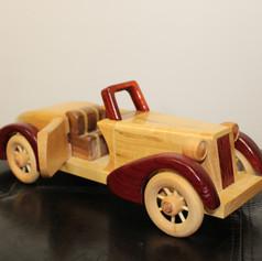 Hand Made Wooden SpeederCar