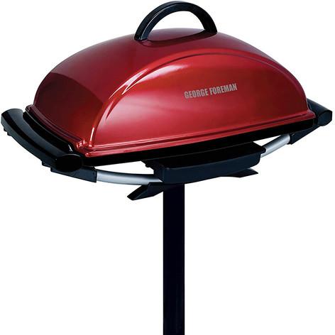 Indoor/Outdoor 12+ Serving Rectangular Electric Grill
