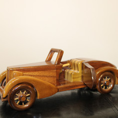 Hand Made Wooden Speedster Car