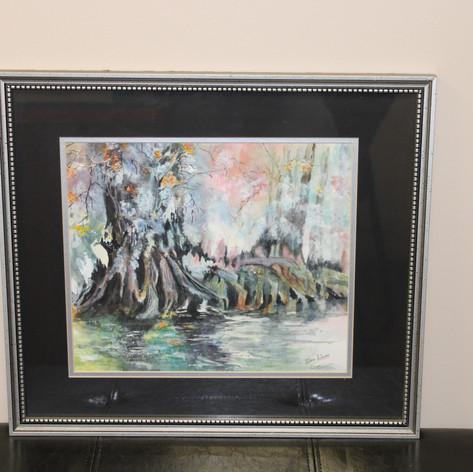 Turkey Creek Roots, Painting By: Velera Adams