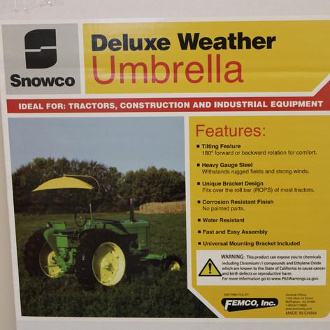 Deluxe Weather Umbrella