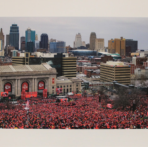 """Chiefs Victory Parade"" By: Dave Von Fintel"