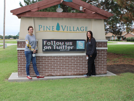 Pine Village Says Thank You and Farewell to Administrator and Director of Nursing