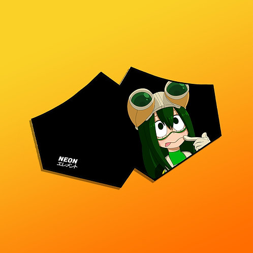 (PRE-ORDER) Waifu Face Mask - Froppy