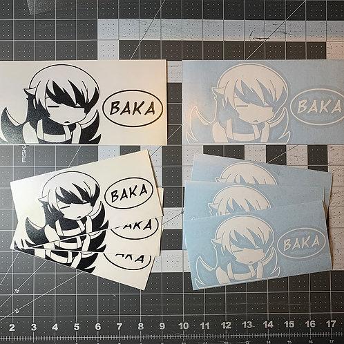 Shinobu BAKA Vinyl Decal