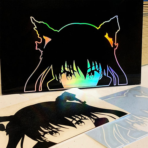 Tamaki Vinyl Decal Peeker