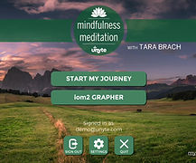 Mindfulness in Harlow with Biofeedback App