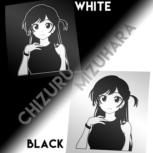Chizuru Vinyl Decal