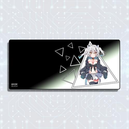 Neon-chan Kuudere Mode Mousepad/Deskpad